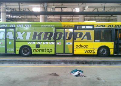 polepy autobusů emgrafika